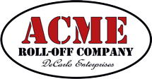 Acme Roll-Off Company Logo